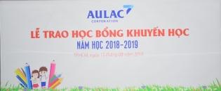 Lễ trao học bổng khuyến học năm học 2018-2019